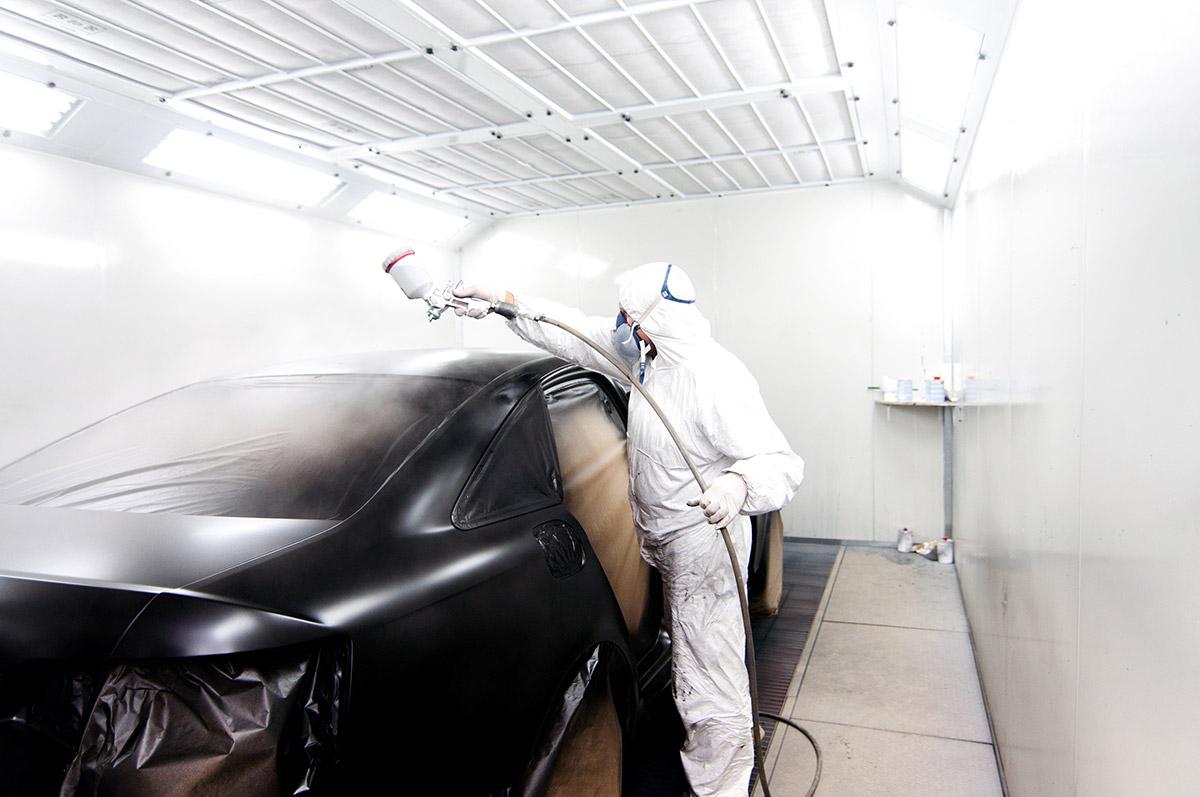 ¿Cómo funciona una cabina de pintura?