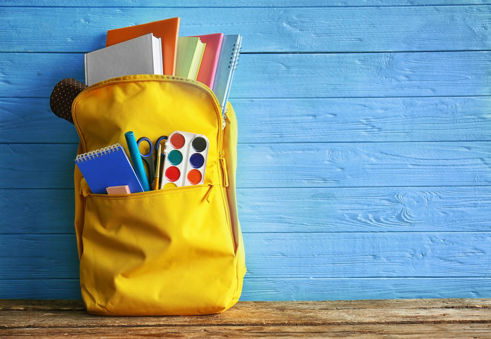 Consejos sobre material escolar para ir al colegio