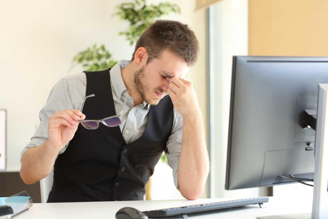 ¿Afecta la pantalla del ordenador a nuestra salud ocular?