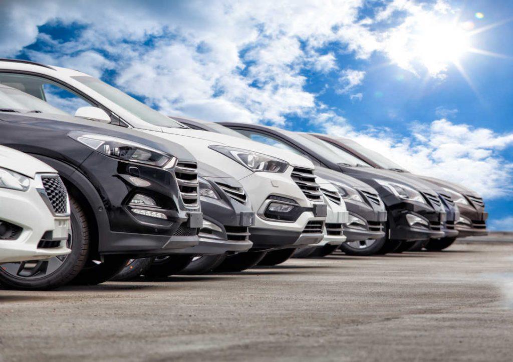 La venta de vehículos de segunda mano